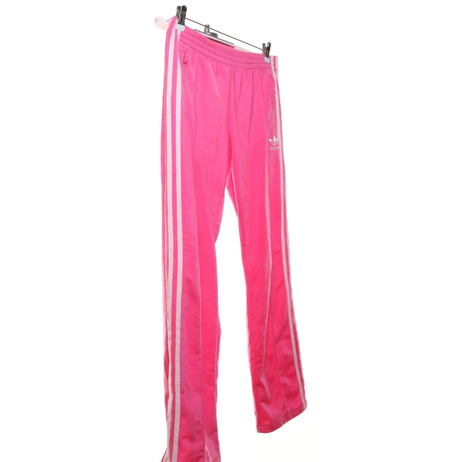 rosa adidas byxor