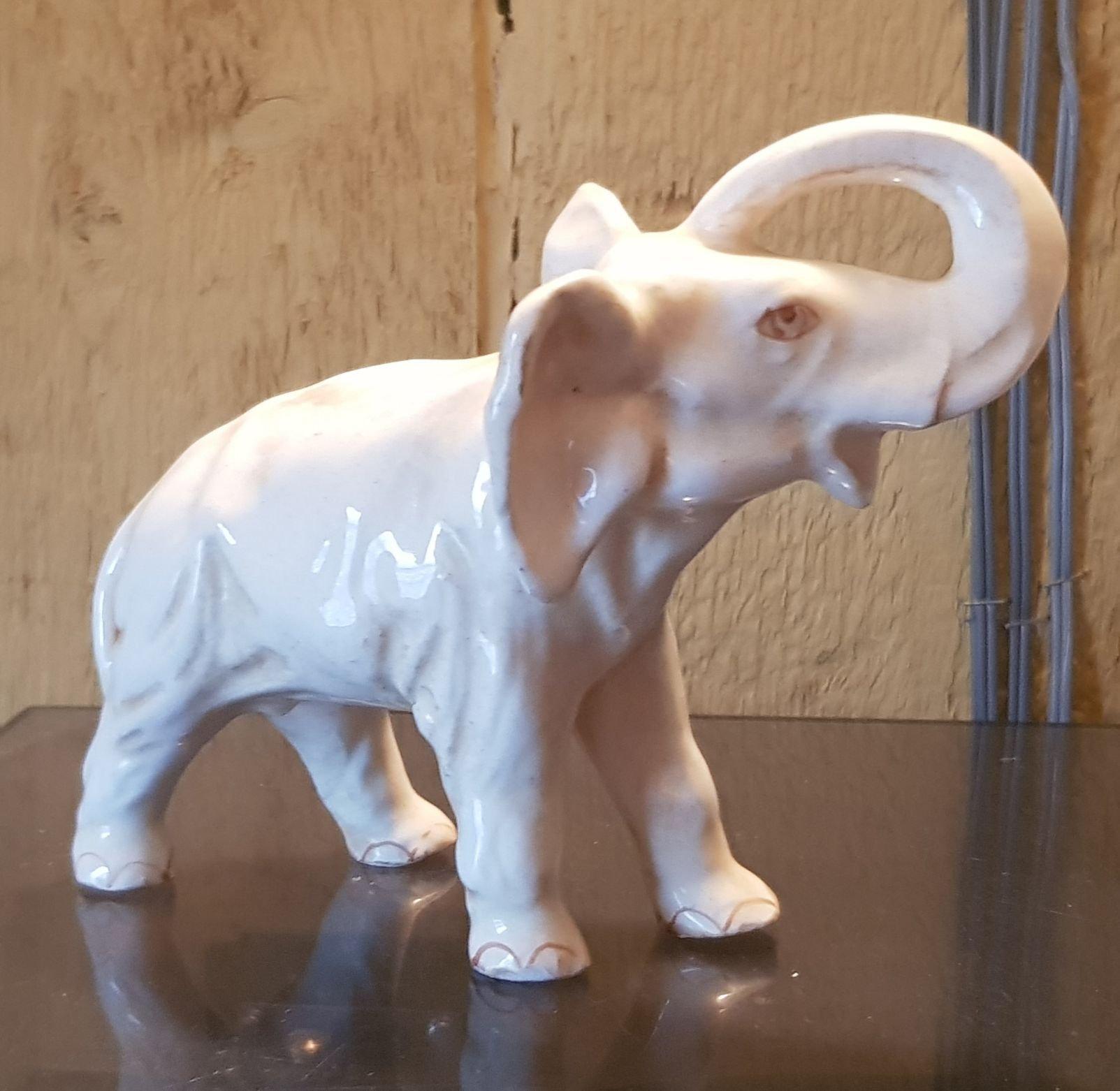 supersöt fri leverans toppmärken Elefant Royal Dux