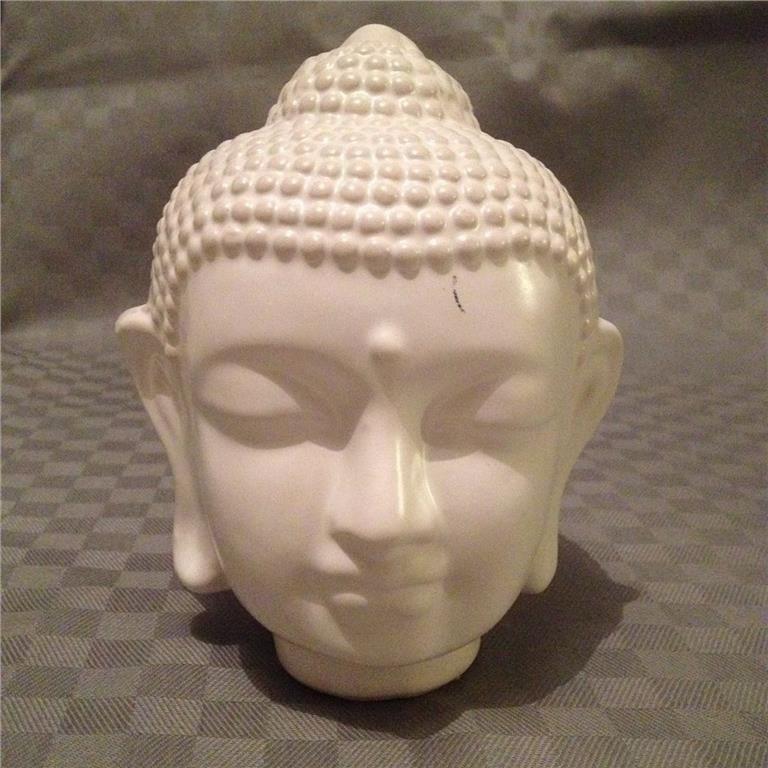 buddha huvud betong