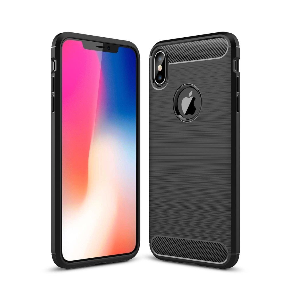 iPhone XS Max Anti Shock Carbon Stöt.. (329839814) ᐈ TheTechshop på ... 824991342202b