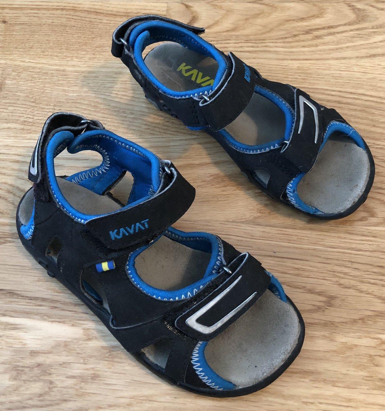 1f45038f26e Kavat Rio sandaler i strl 29, svart / blå.. (349322212) ᐈ EMIBOX på ...