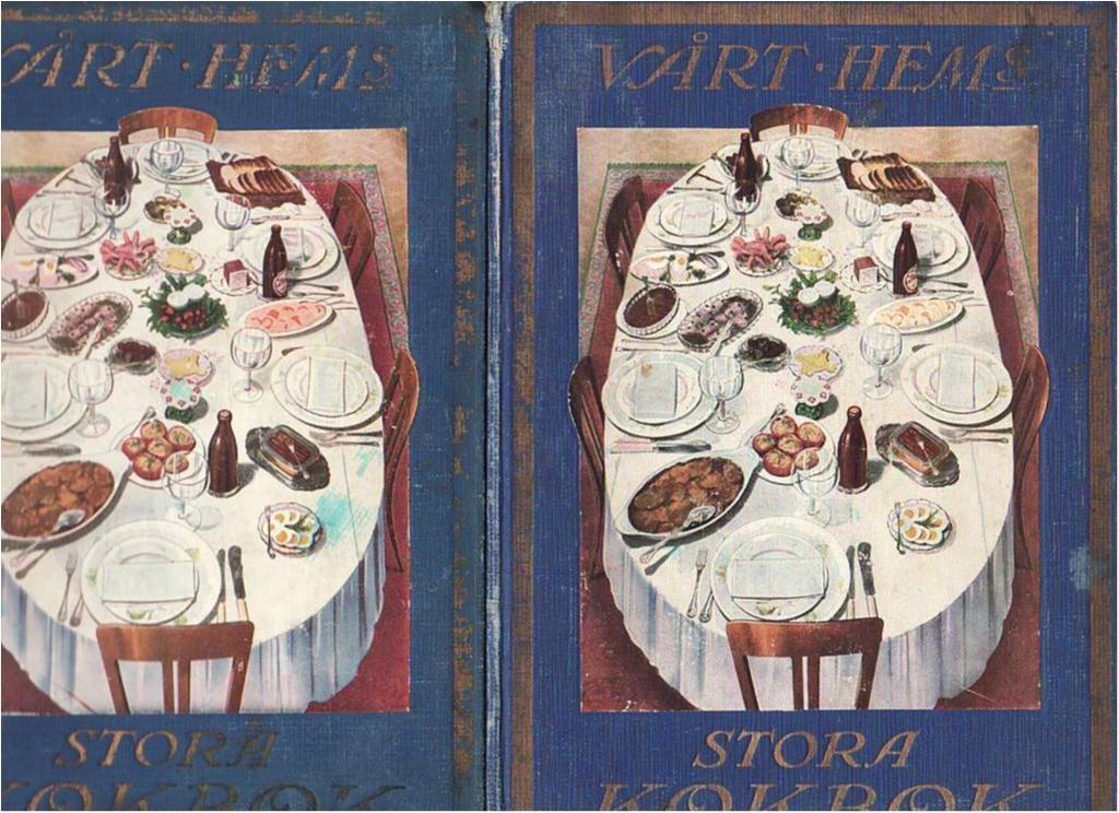 gamla kokböcker recept