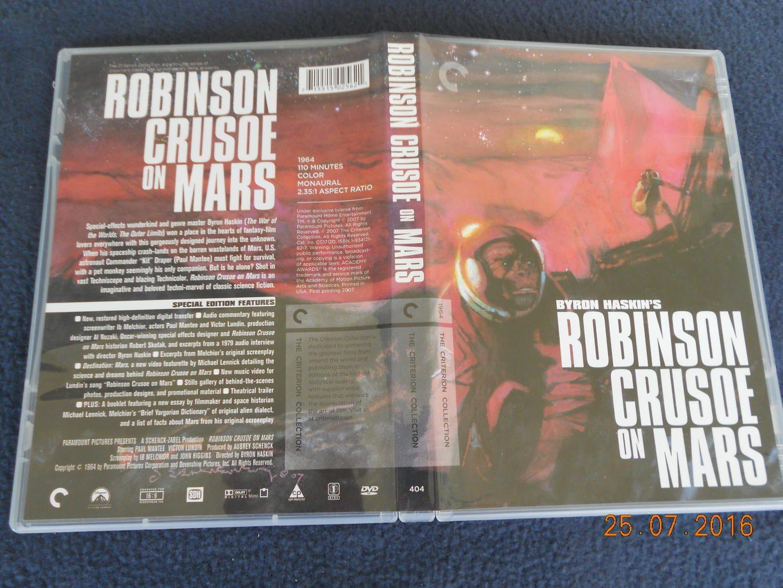 Robinson Crusoe On Mars Criterion