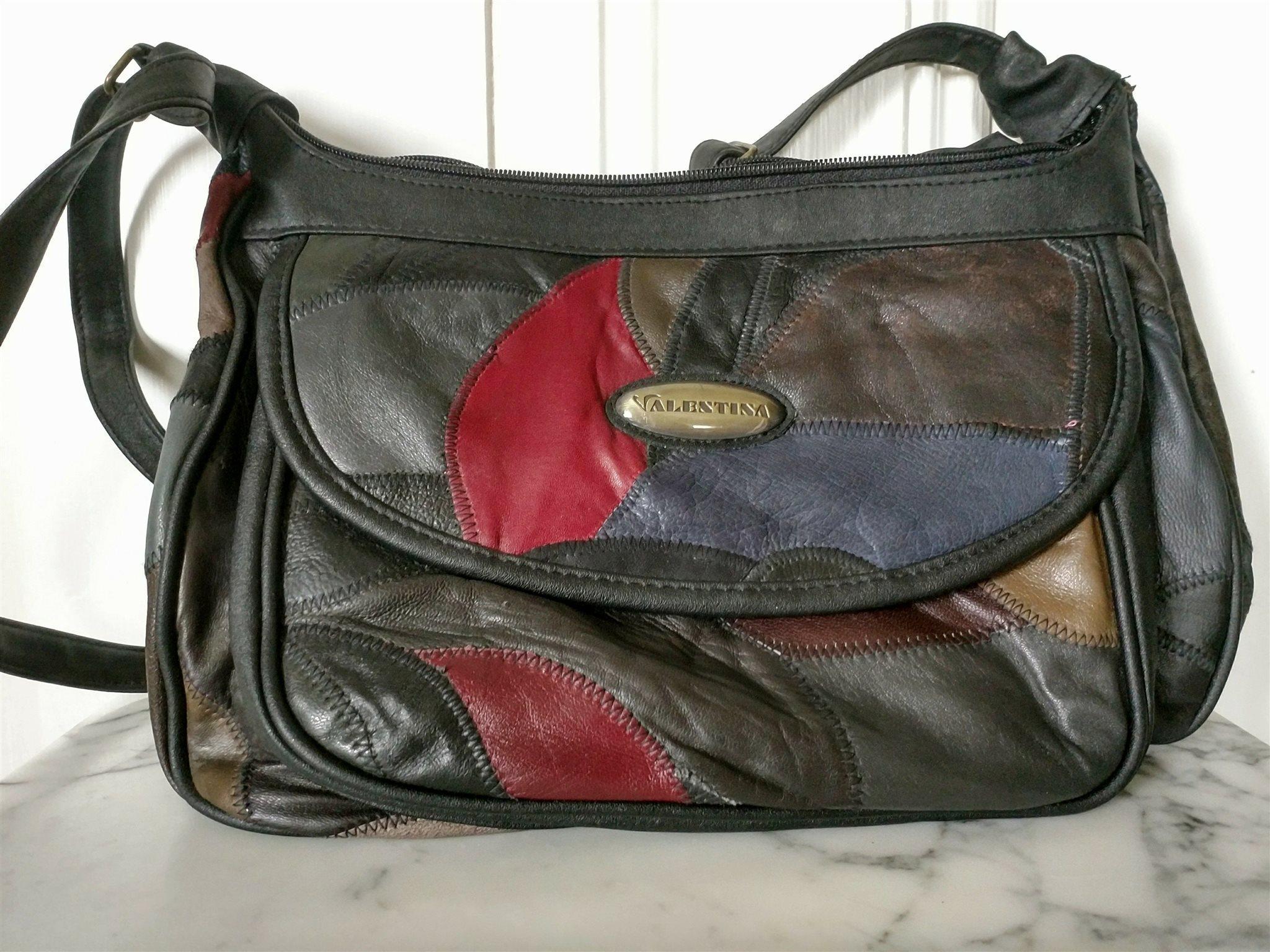 handväska äkta skinn