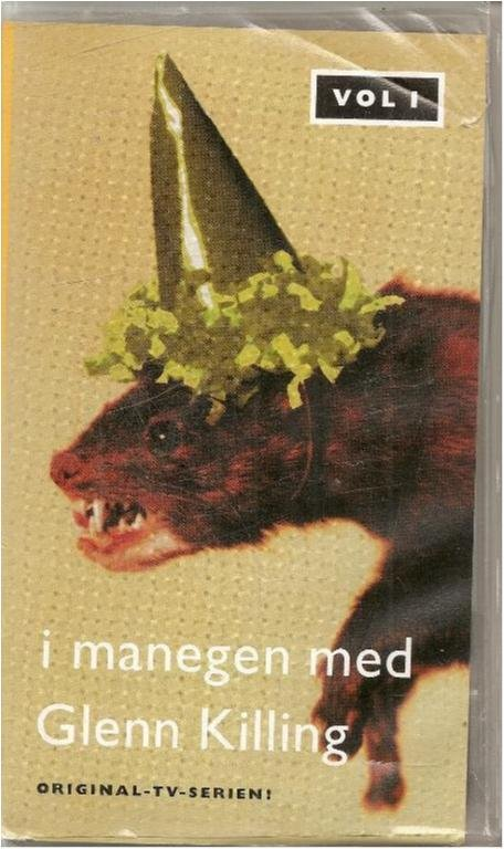 I MANEGEN MED GLENN KILLING - VOL 1 (VHS FILM  )