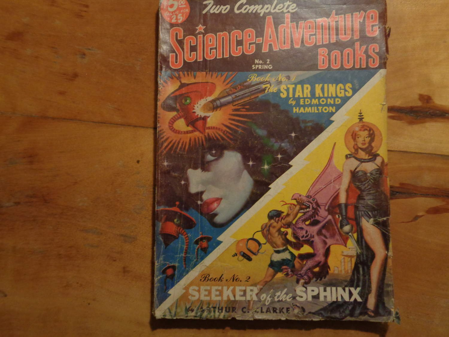 Two Complete Science-Adventure's Books 1951