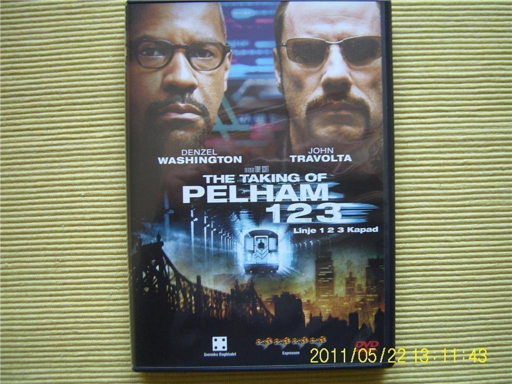 DVD - The Taking of Pelham 123