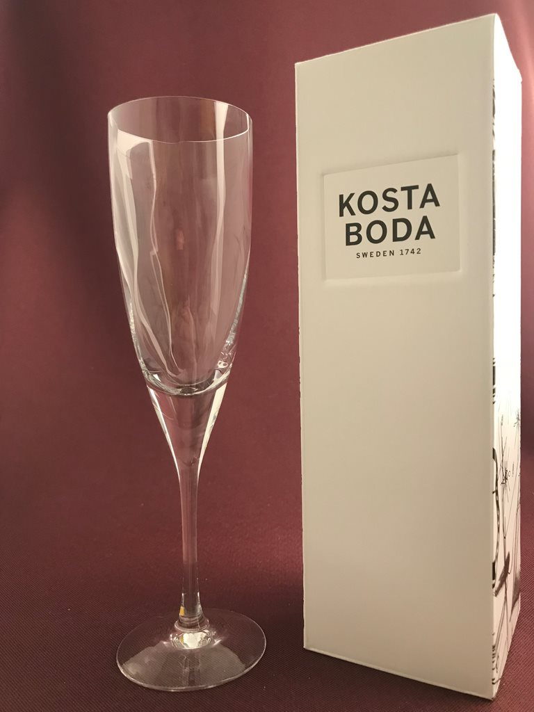 Storslået Kosta Boda Chateau champagneglas / s.. (336839121) ᐈ glasprinsen OF04