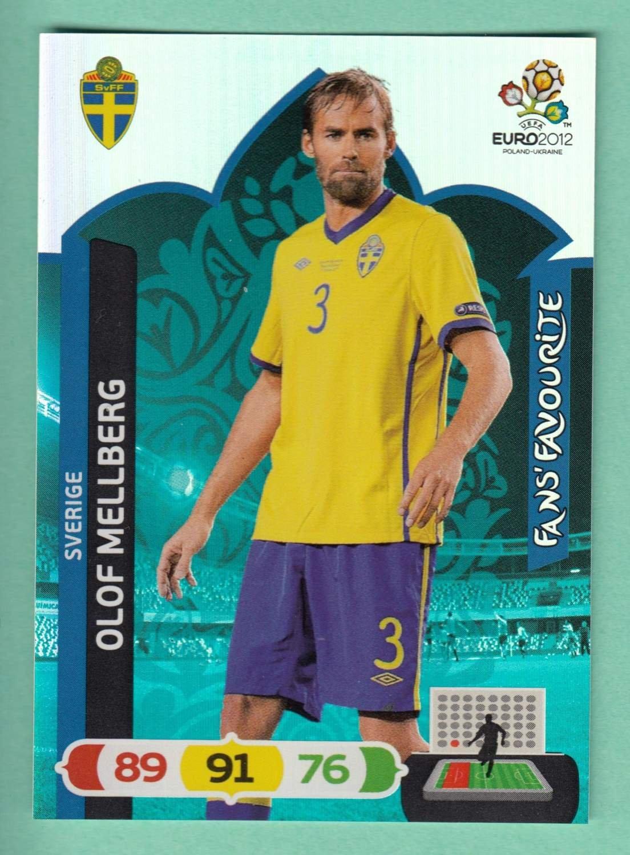 ADRENALYN xl Euro EM 2012-Olof Mellberg-suède