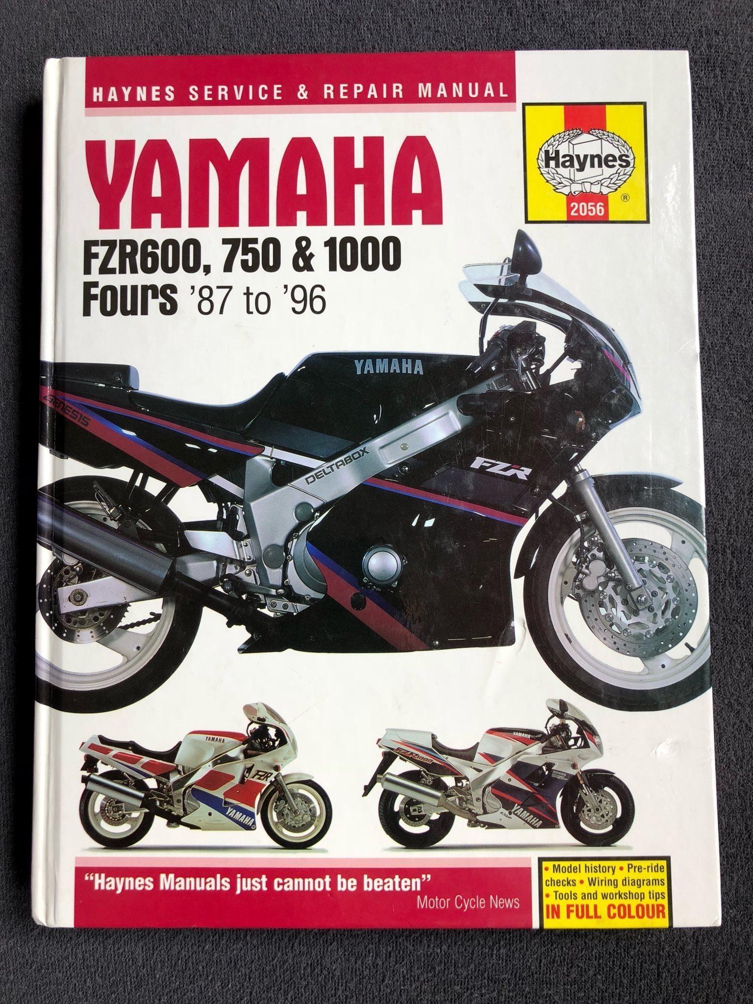 Yamaha FZR 600, 750, 1000 4-cyl. 1987-96. H.. (309639688) ᐈ Köp på ...