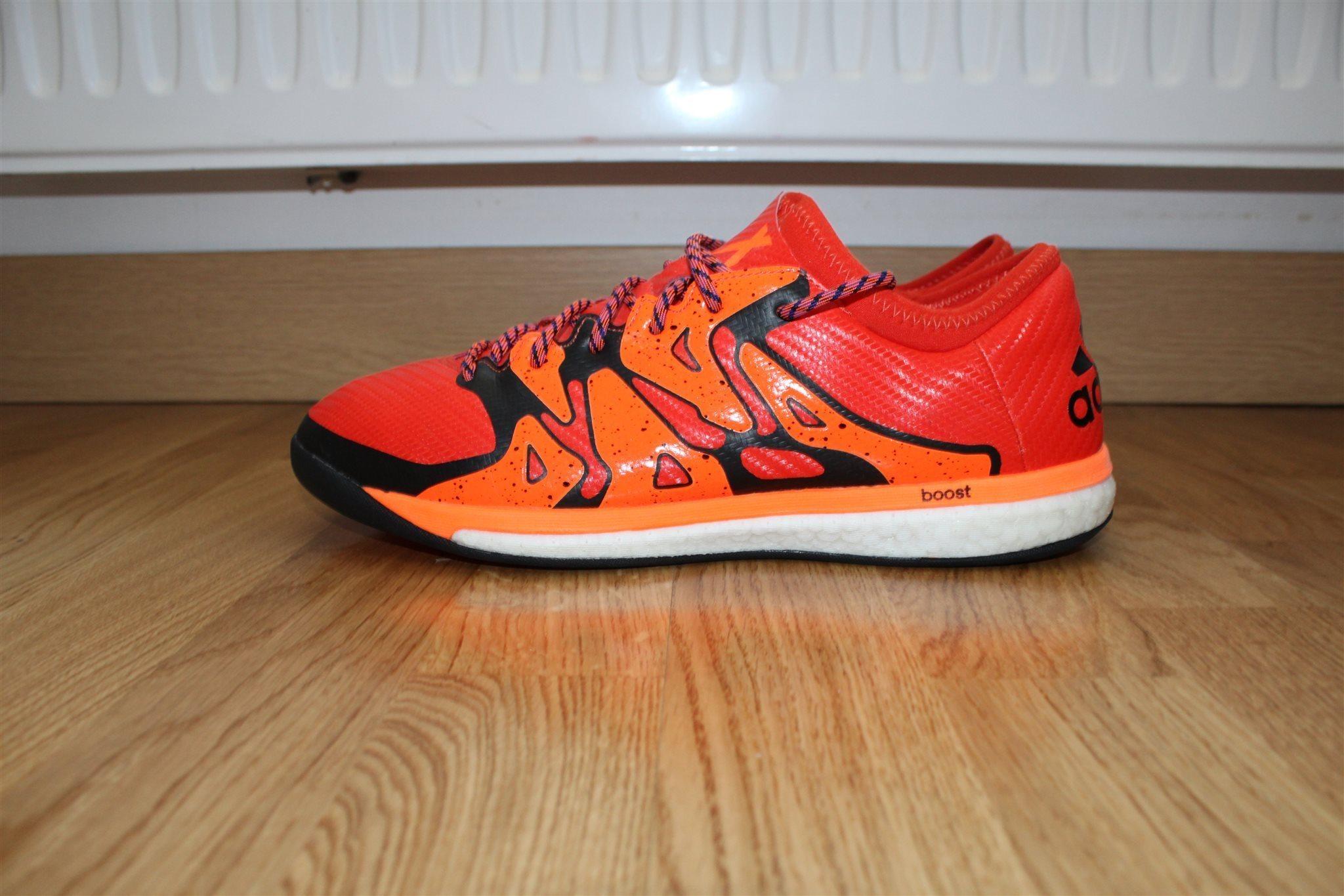 the best attitude 47296 f1dd6 ... training skor från adidas x 15.1 boost orange svart i stl 44