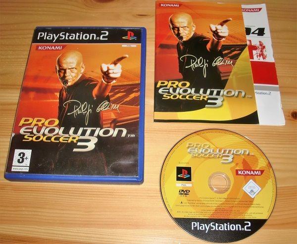 PS2: Pro Evolution Soccer 3 - PES 3 (299266087) ᐈ
