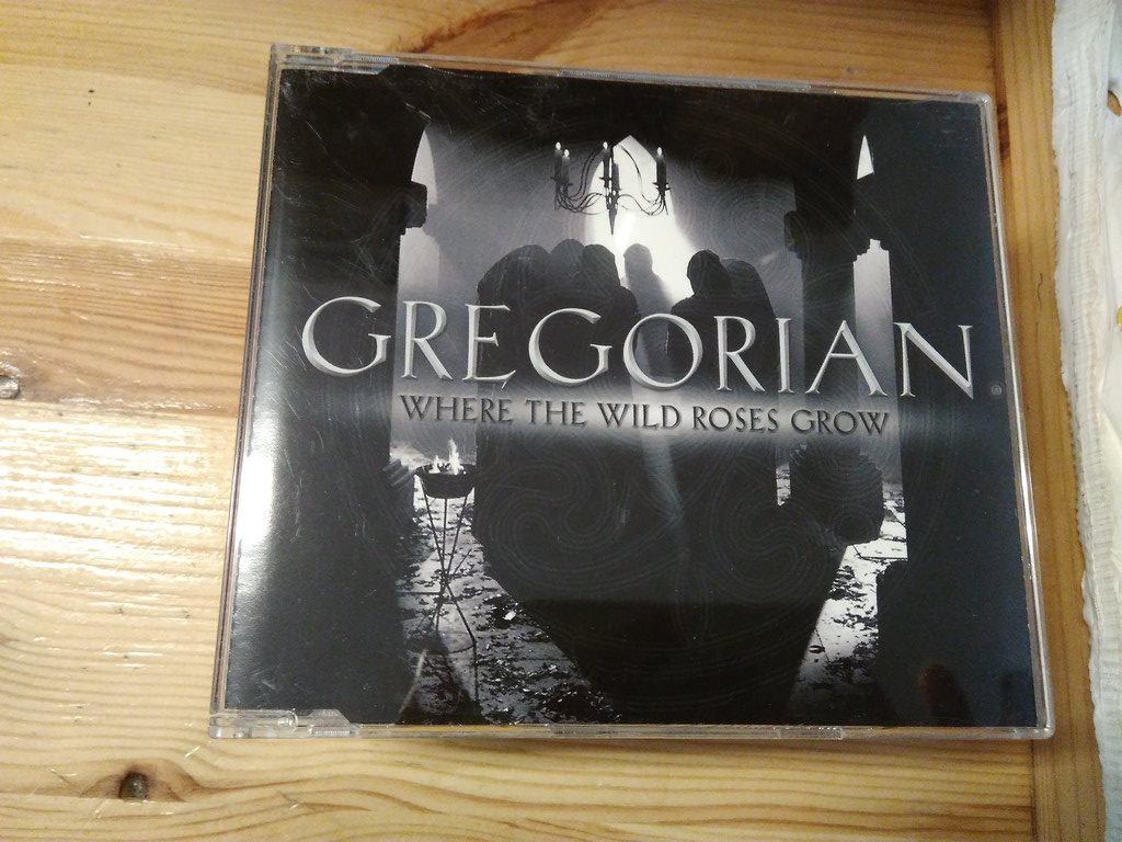 Gregorian - Where The Wild Roses Grow, Promo, CD