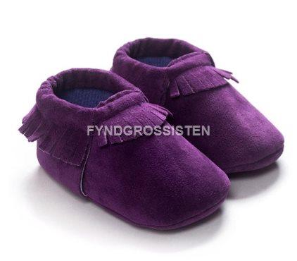 0ab9e4ab1b3 Mockasiner för Småbarn 13-18 mån Barnskor Barn skor - Violett Fri Frakt Ny  ...