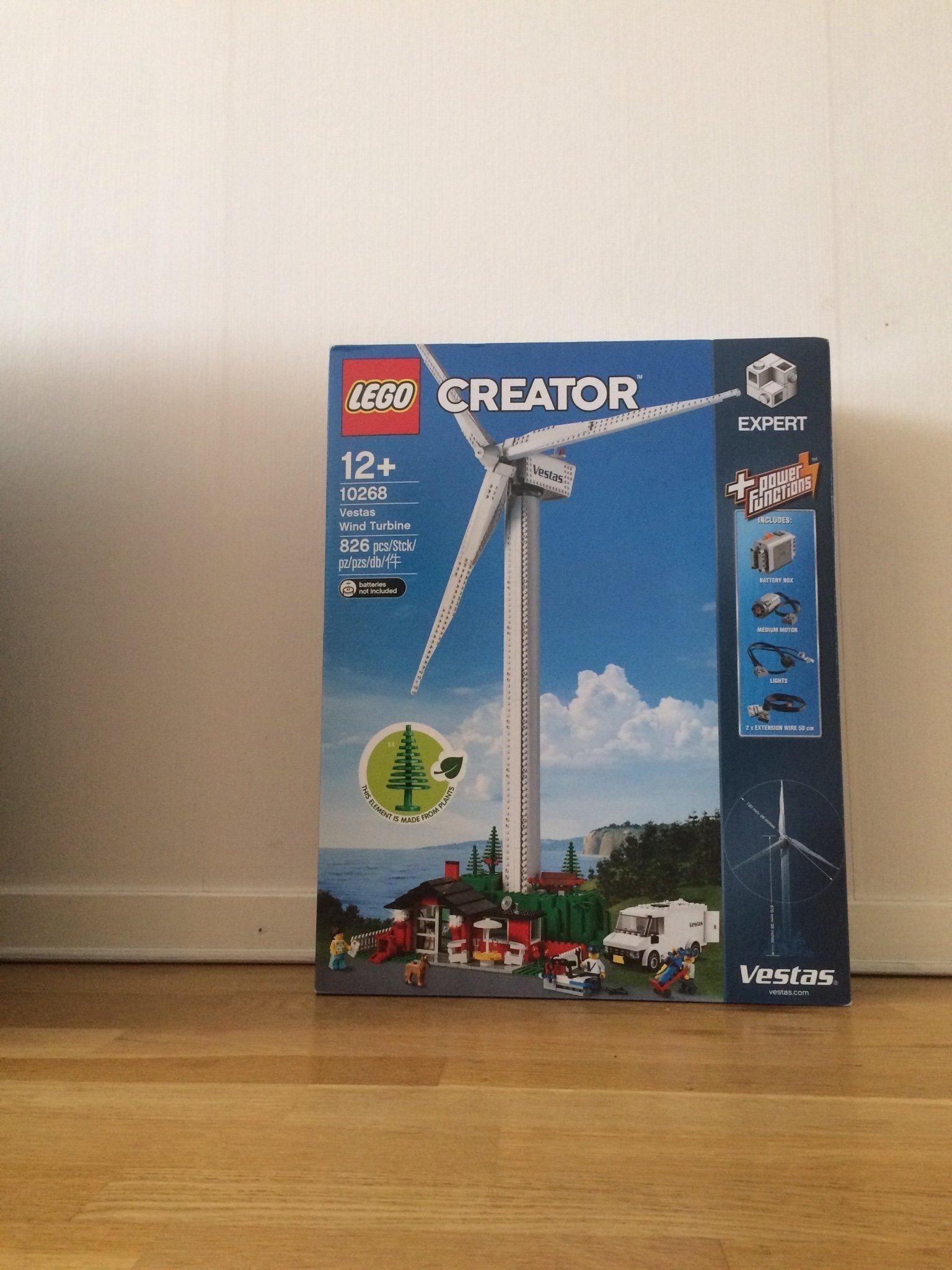 LEGO Creator - Vestas Wind Turbine (10268) helt   (345689121) ᐈ Köp