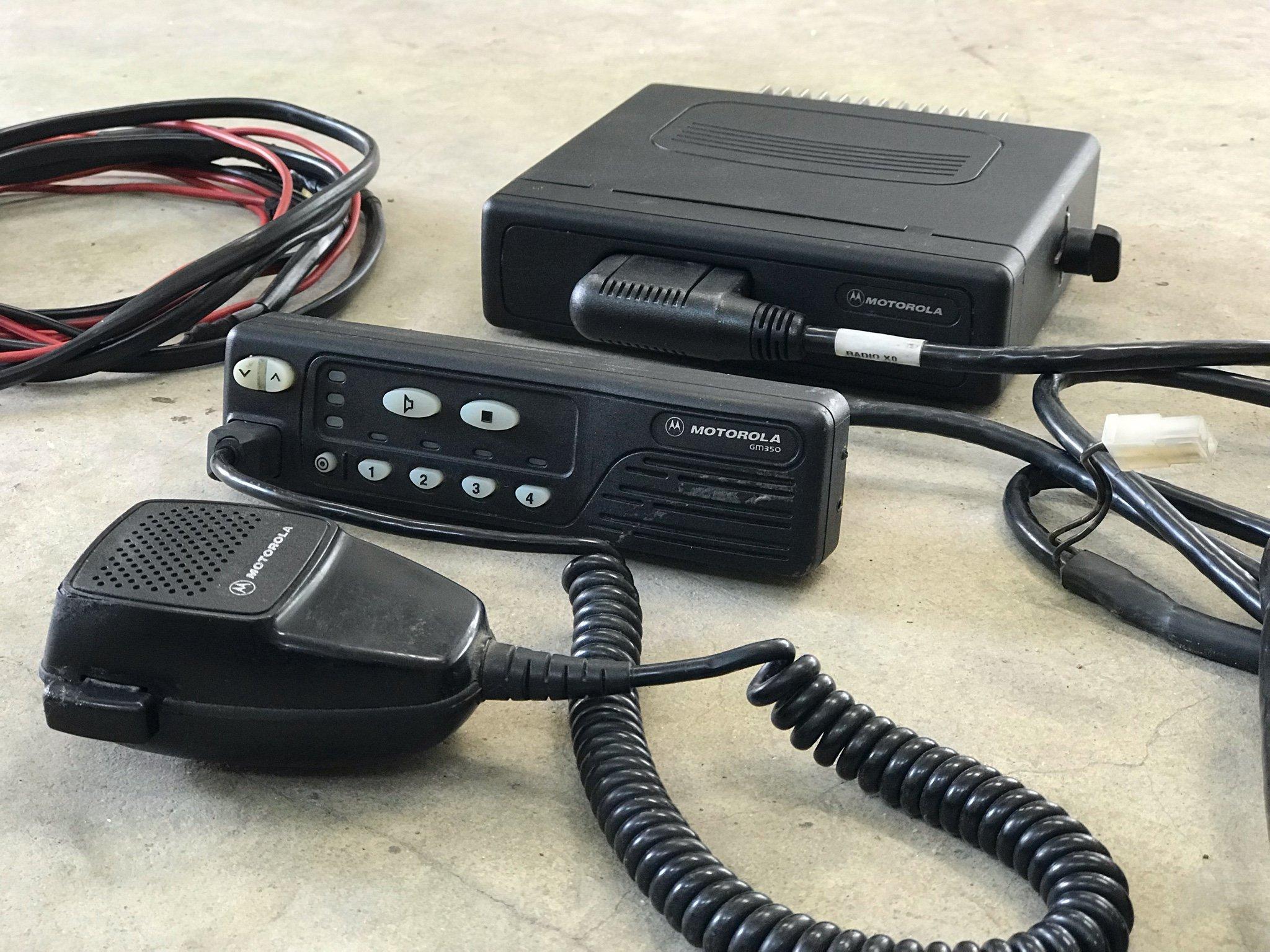 Motorola GM350 66-88Mhz Komradio (355306778) ᐈ Köp på Tradera