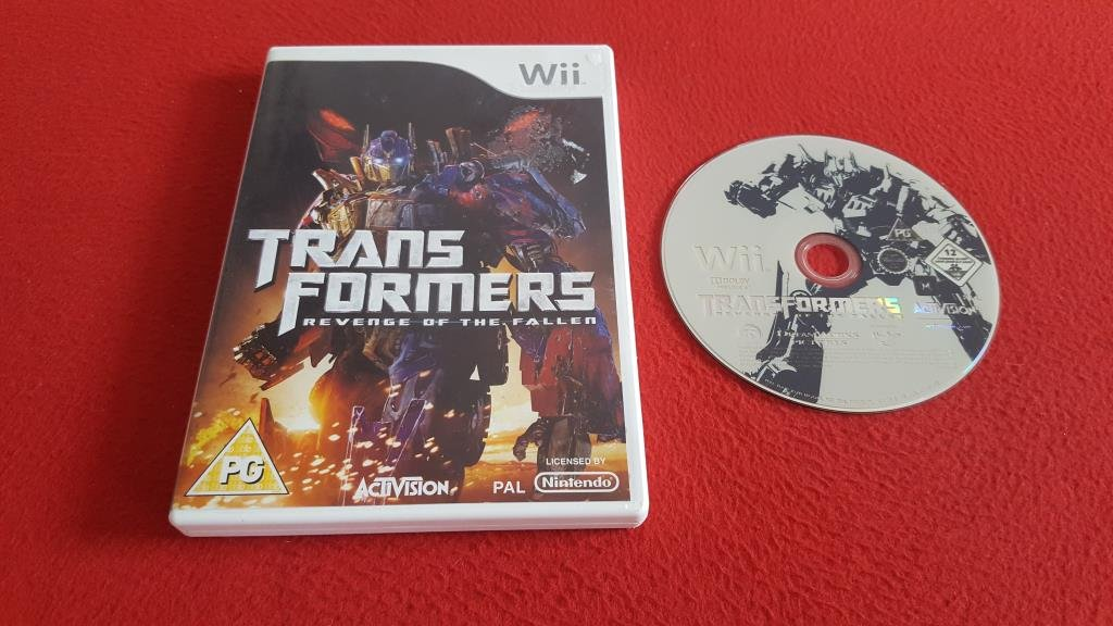 TRANSFORMERS REVENGE OF THE FALLEN till Nintendo Wii