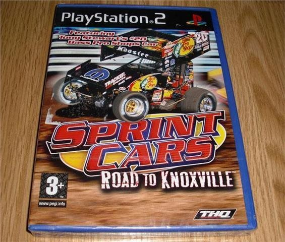 PS2: Sprint Cars Road to Knoxville (ny) ★
