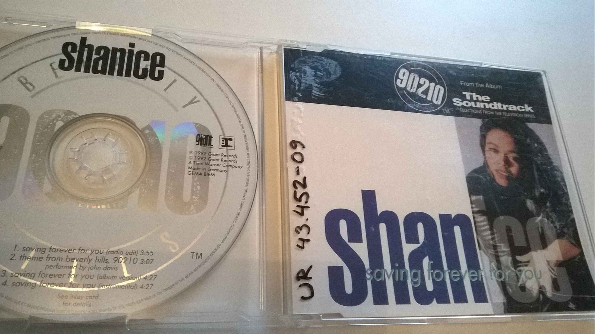 Shanice ?- Saving Forever For You, CD, Single