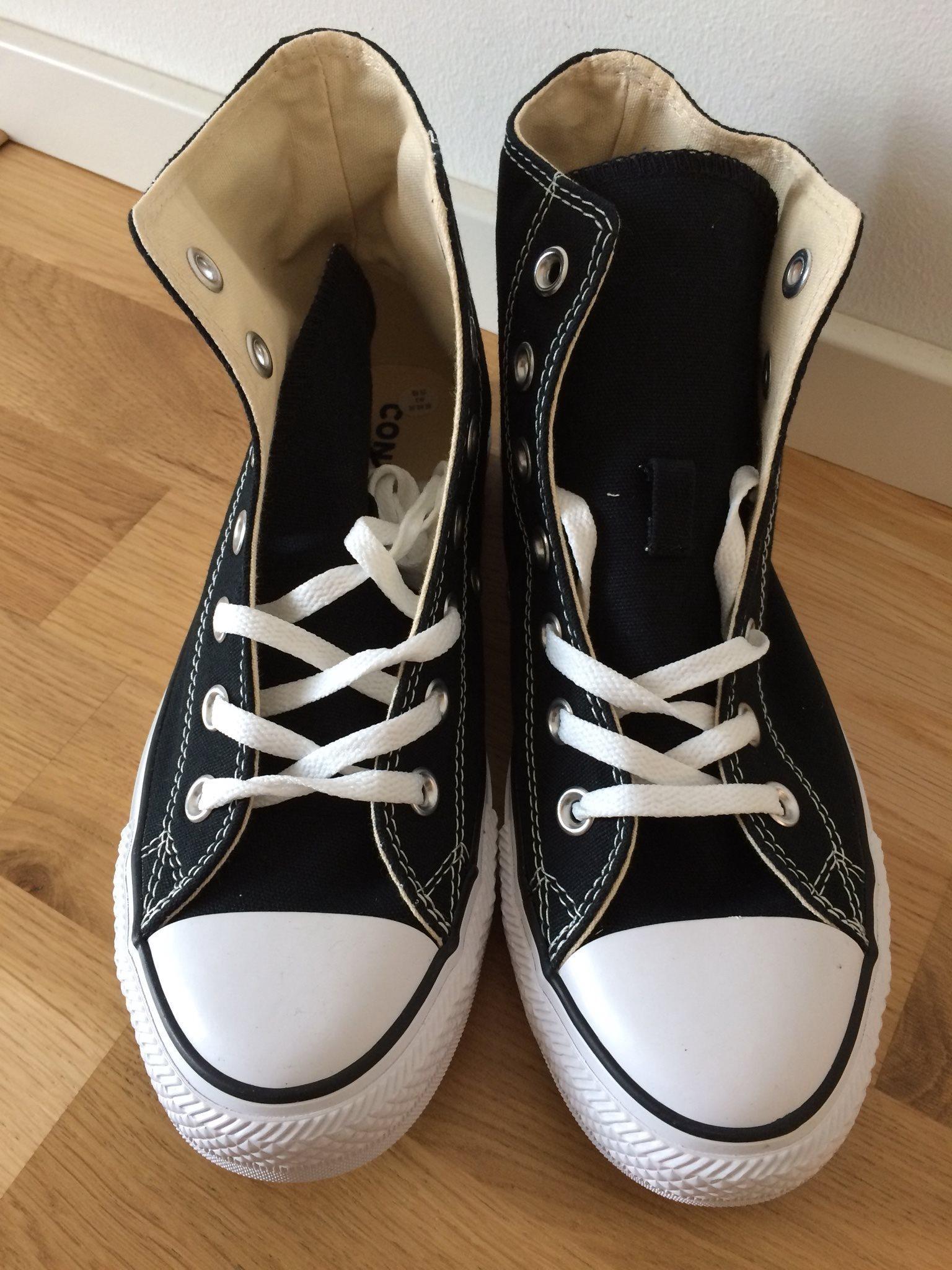 converse skor höga