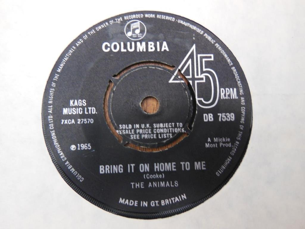 Animals - Bring it on home to me     45rpm