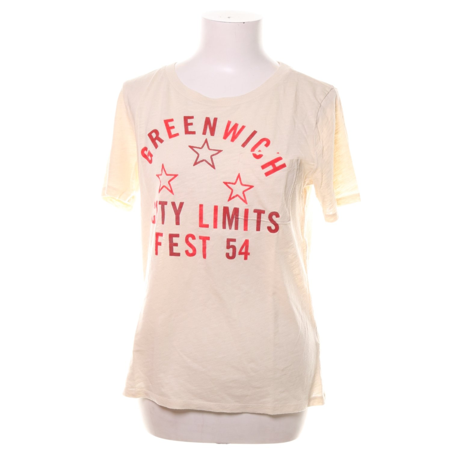 Abercrombie & Fitch, T-shirt, Strl: M, Rosa, Bomull/Polyester