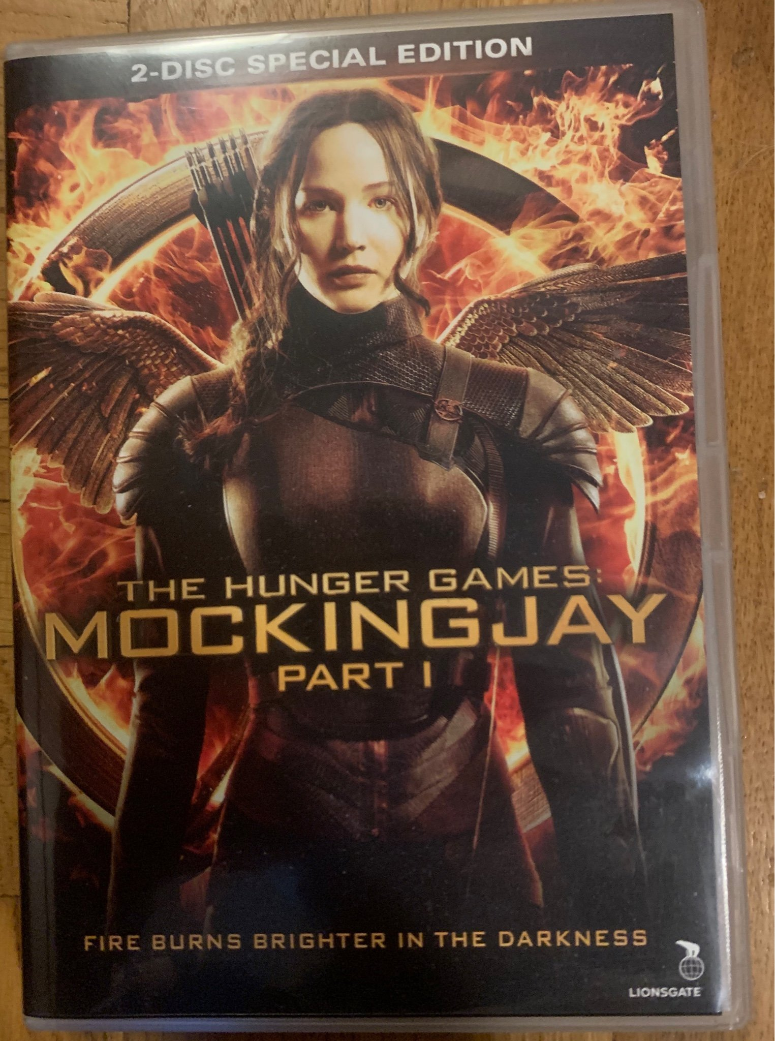 The Hunger Games - Mockingjay Part I DVD