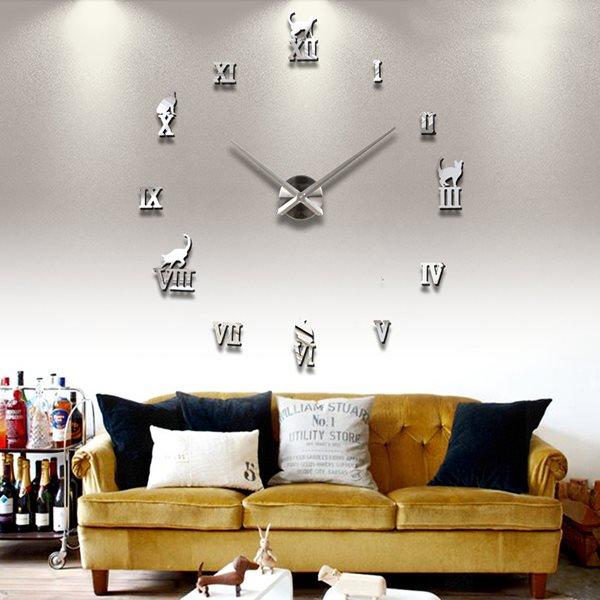 klocka vägg stor
