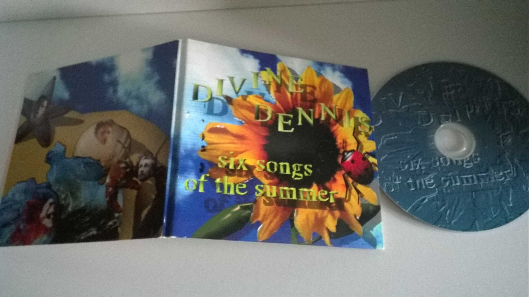 Divine Dennis - Six songs of the summer, single CD