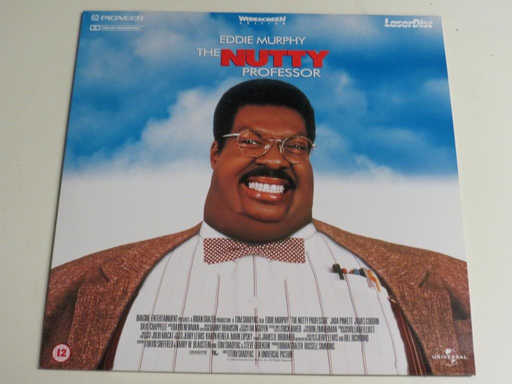 THE NUTTY PROFESSOR (Laserdisc) Eddie Murphy