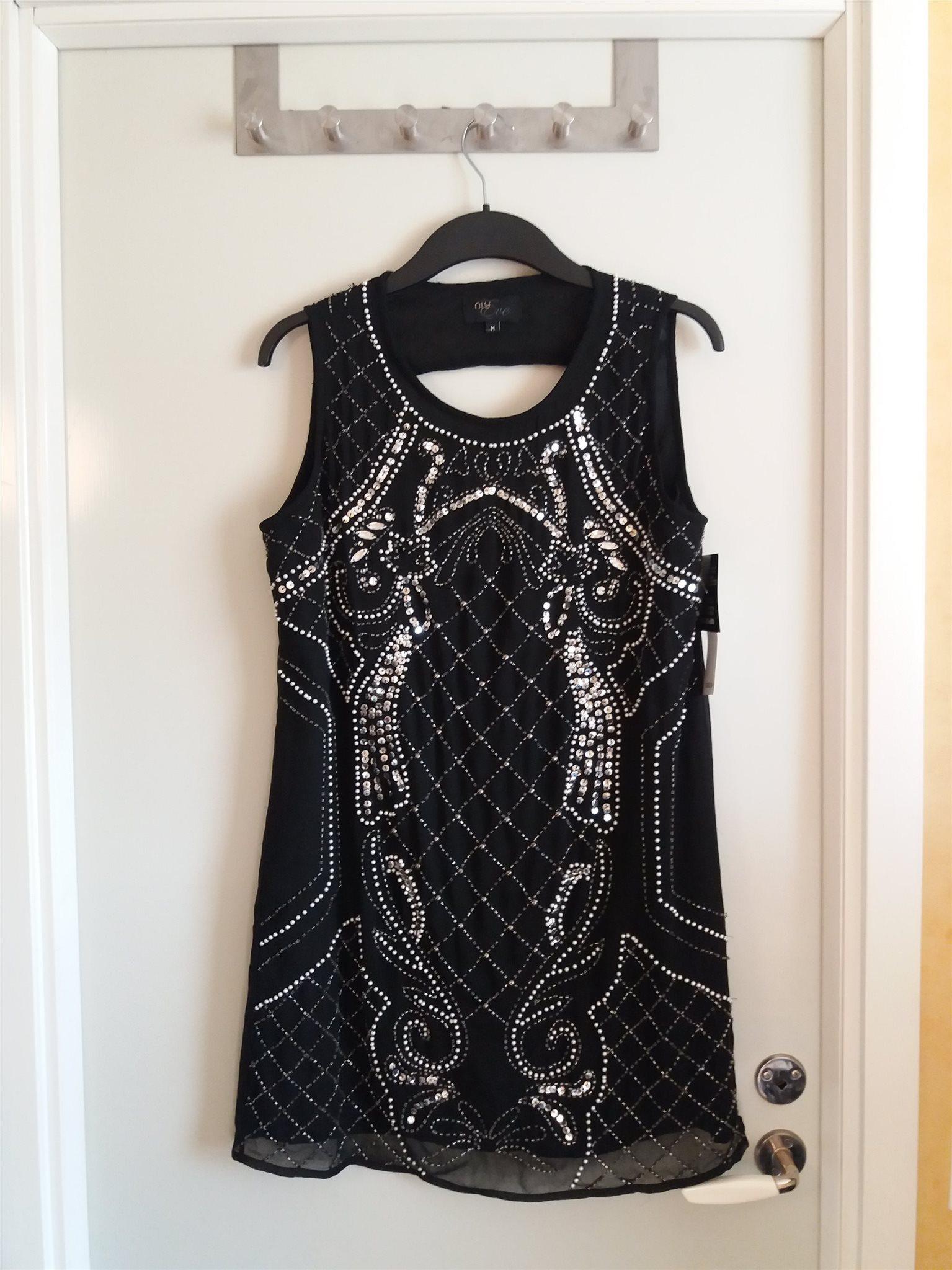 great gatsby inspirerad klänning