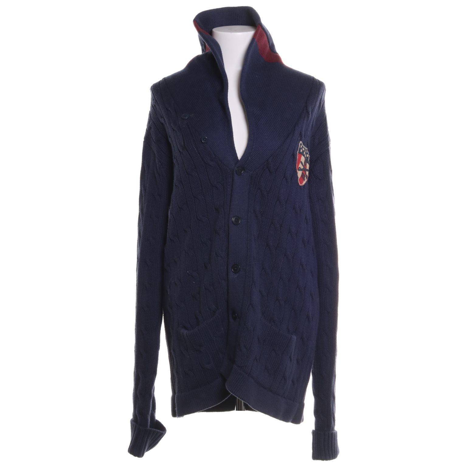 Polo Jeans Company Ralph Lauren, Kofta, Strl: L, Mörkblå