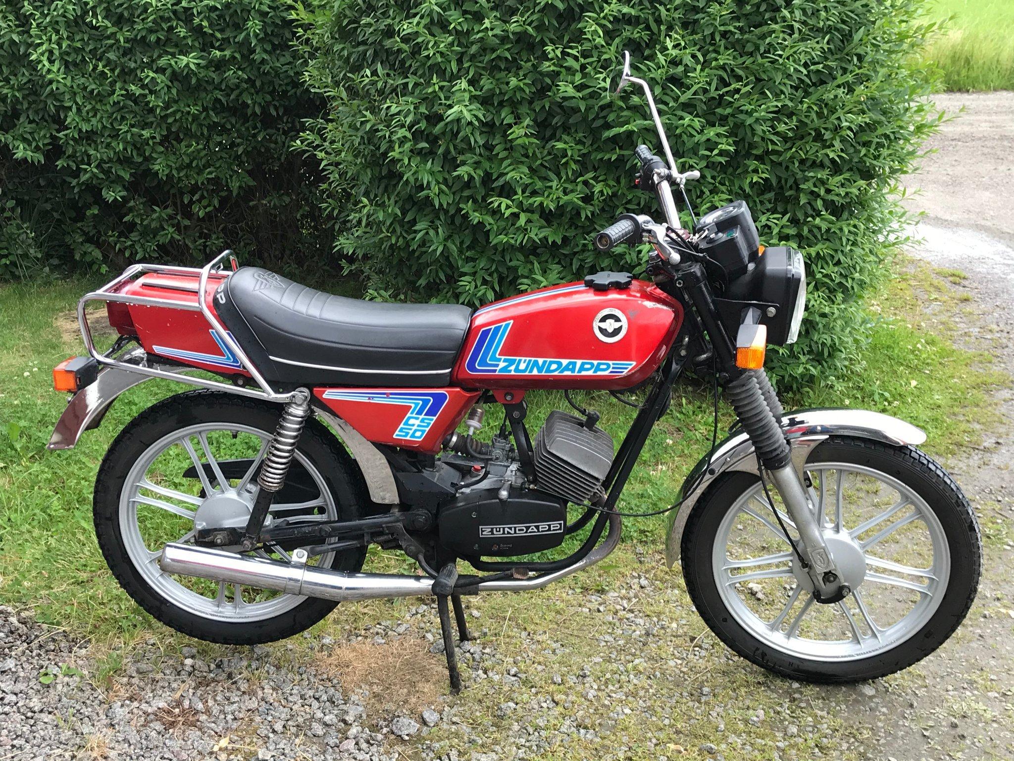 Moto Oldtimer acquistare ZÜNDAPP CS50 Moto-Huber Dällikon