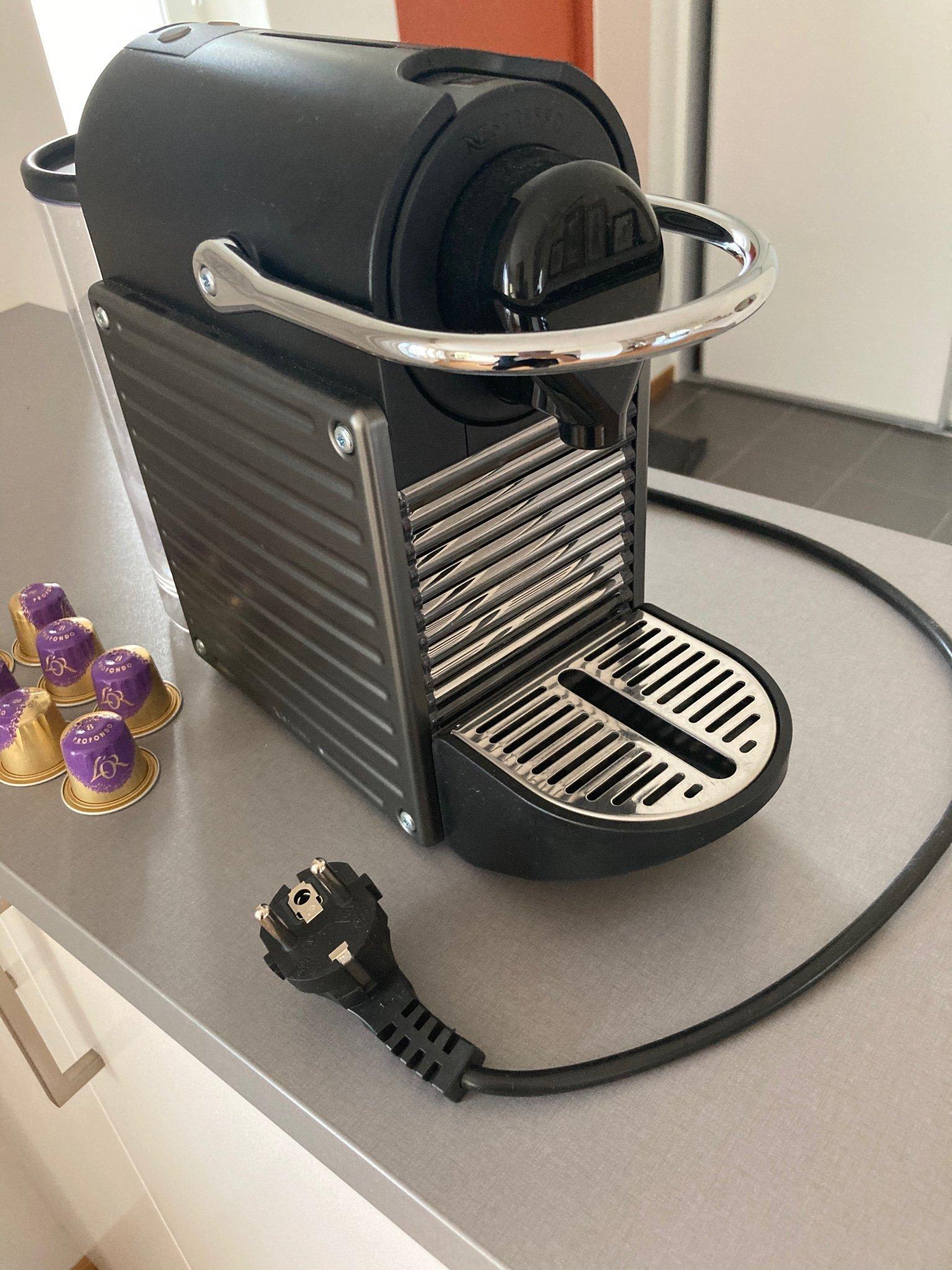 Nespresso maskin Pixie Electric Titan kaffemaskin espresso bryggare