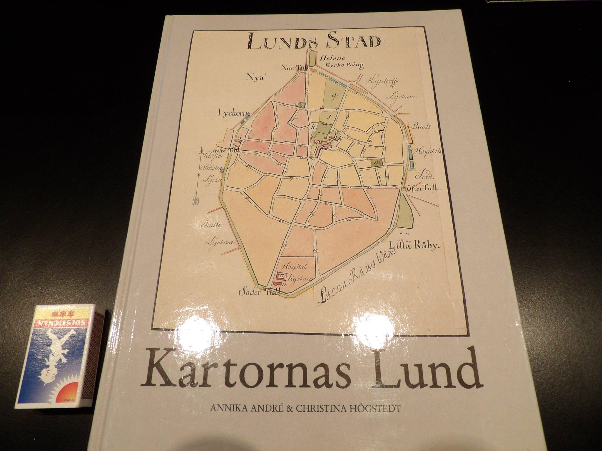 Kartornas LUND - 60 historiska kartor!  - FRAKTFRITT!