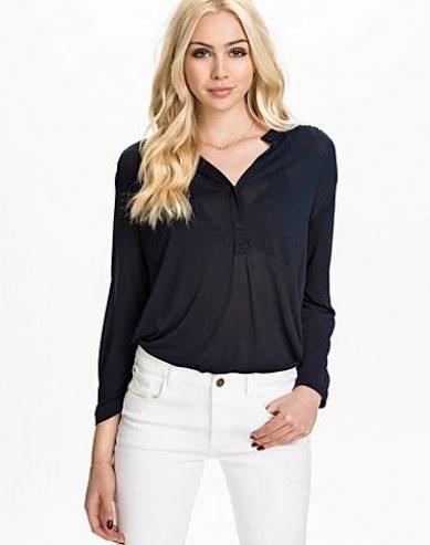 crepe blouse top filippa k