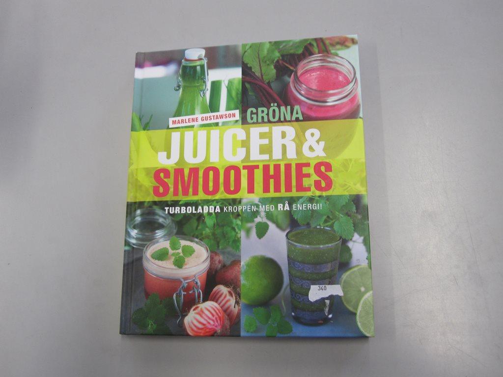 gröna juicer och smoothies