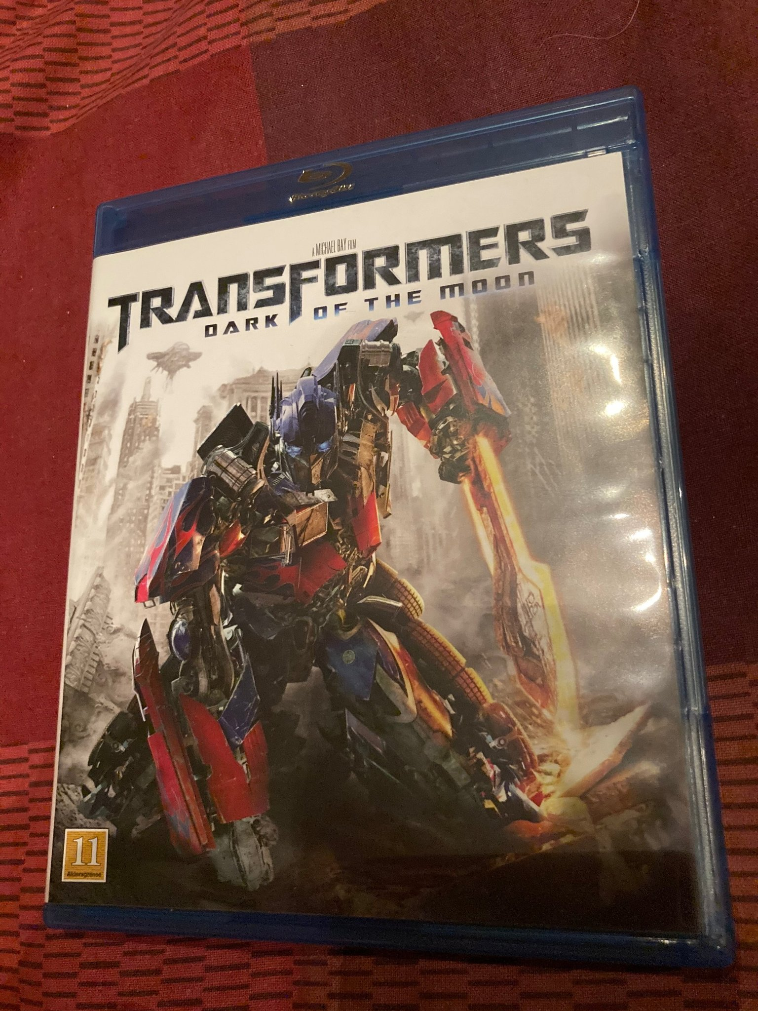 Transformers: Dark of the Moon Blu-Ray