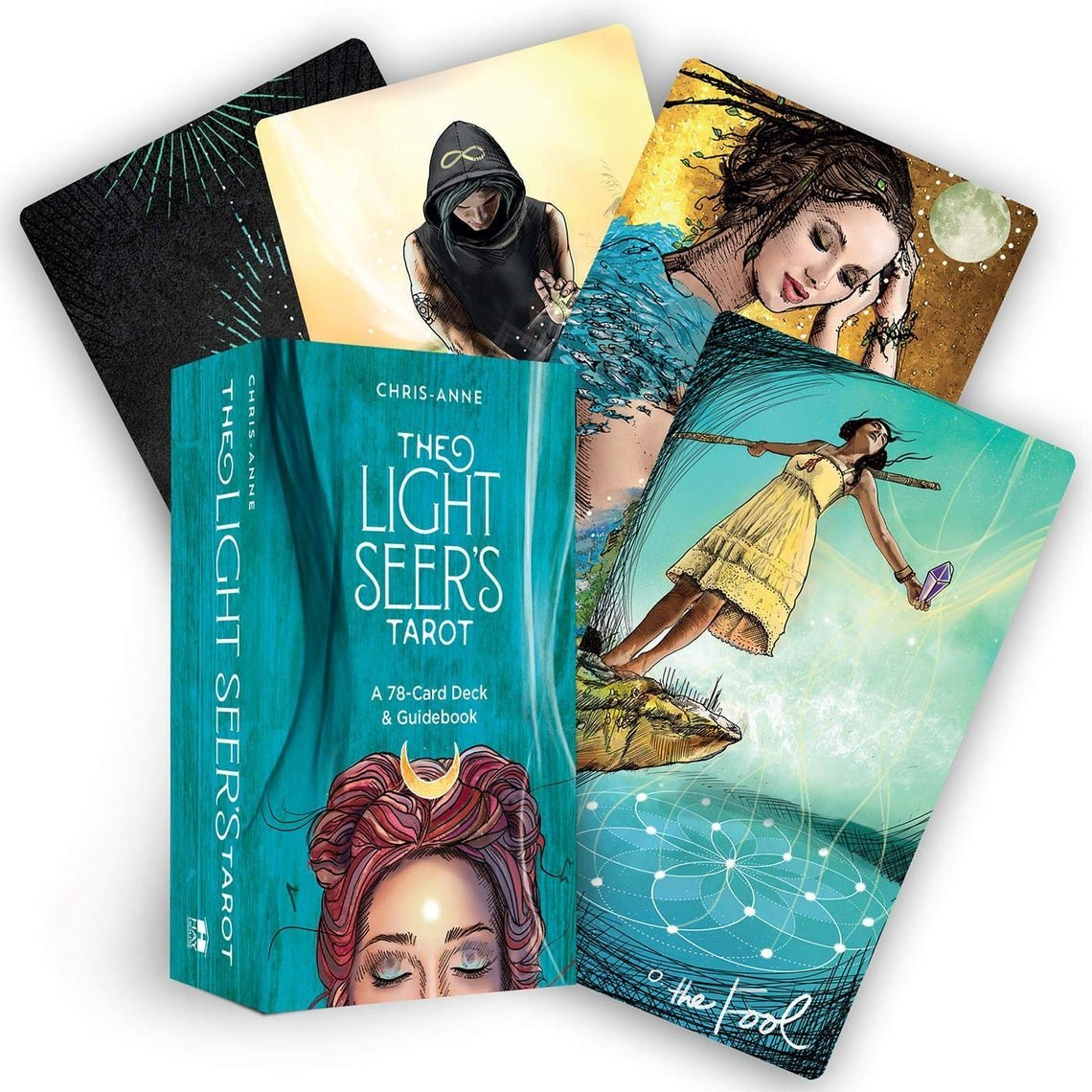 The Light Seer's Tarot Card Deck with Guidebook