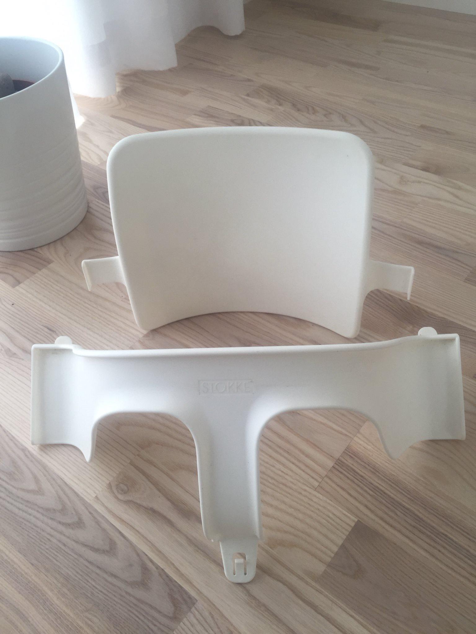stokke tripp trapp stol babyset vit (310297048) ᐈ köp på tradera