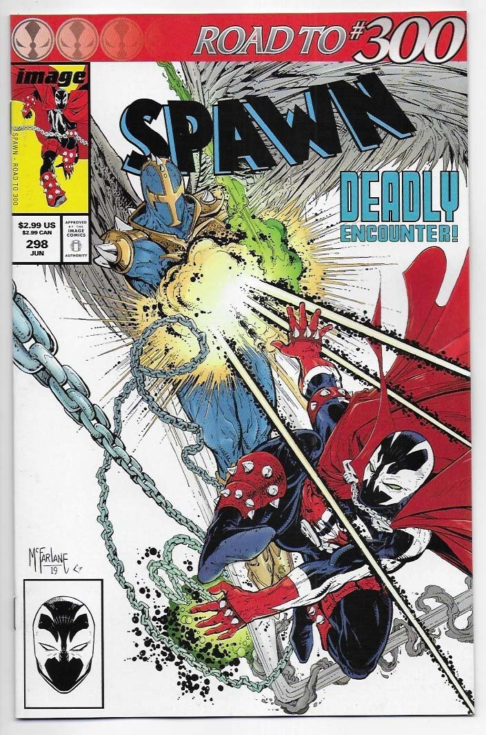 Spawn # 298 Cover A NM Ny Import