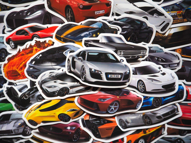 klistermärken för bil