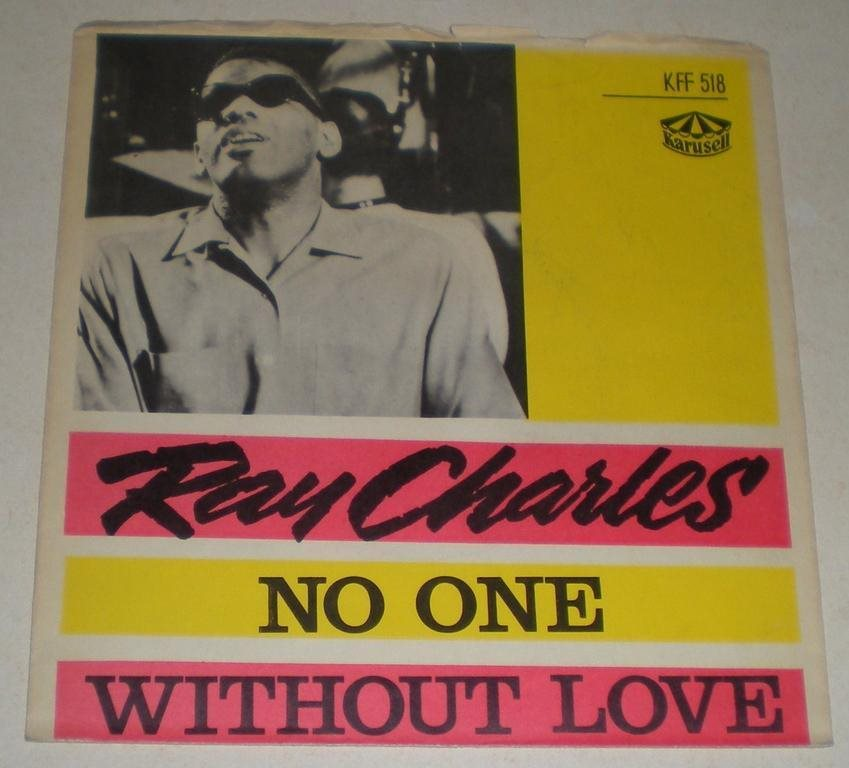 Ray Charles SINGELOMSLAG No one 1963