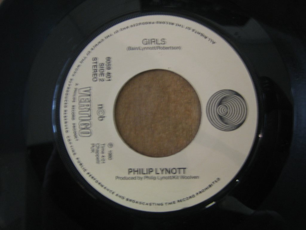 "Singel ""7"": Philip Lynott- Yellow Pearl ""Thin Lizzy relaterad"""
