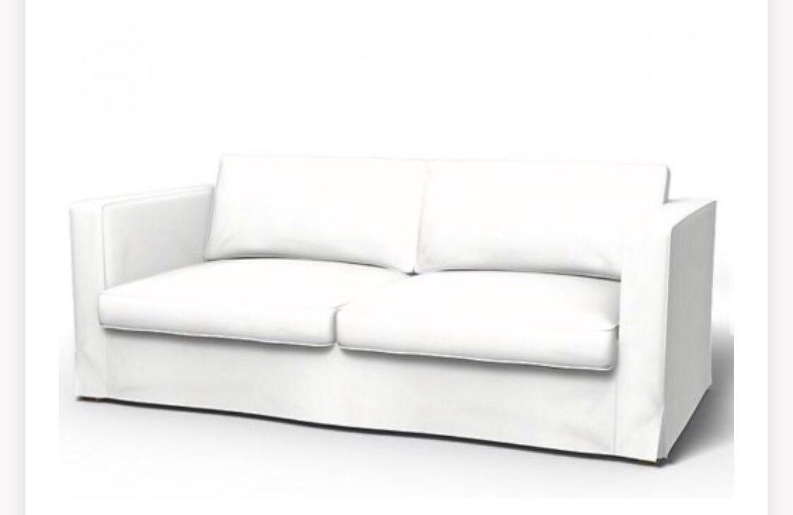 sofföverdrag klädsel ikea soffa karlstad (313734720) ᐈ köp på