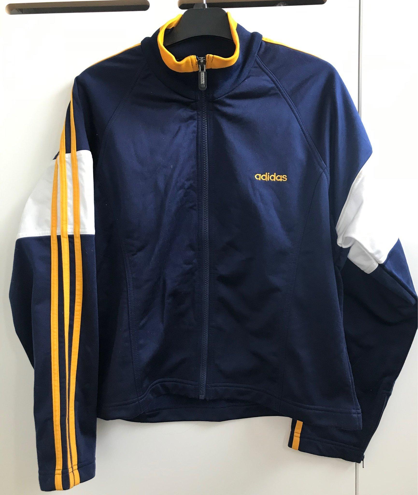 Vintage 90s ziptröja jacka Adidas (38)