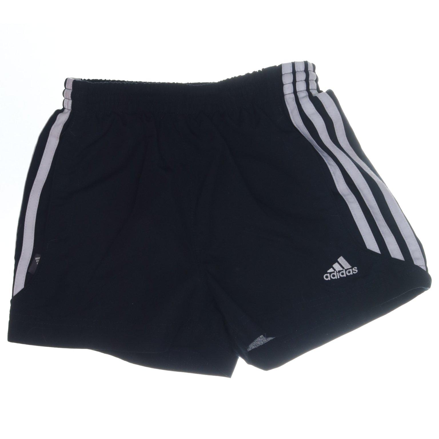 Adidas, Shorts, Strl: 116, Svart, Polyest.. (404101521) ᐈ