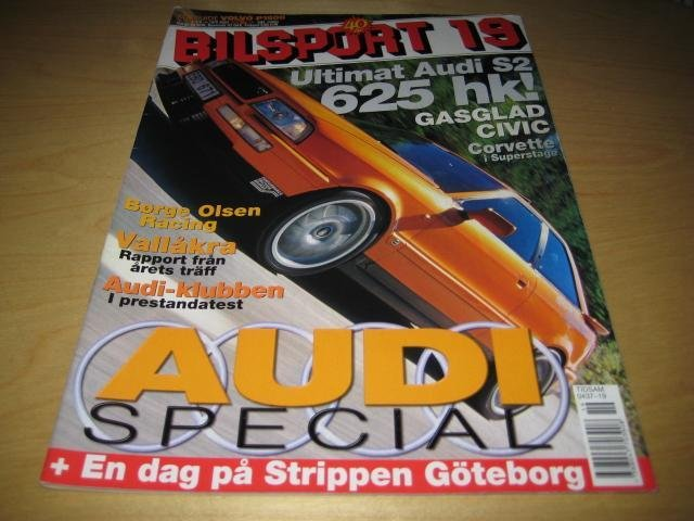 BILSPORT NR 19 2002   AUDI S2 COUPE ,HONDA CIVIC