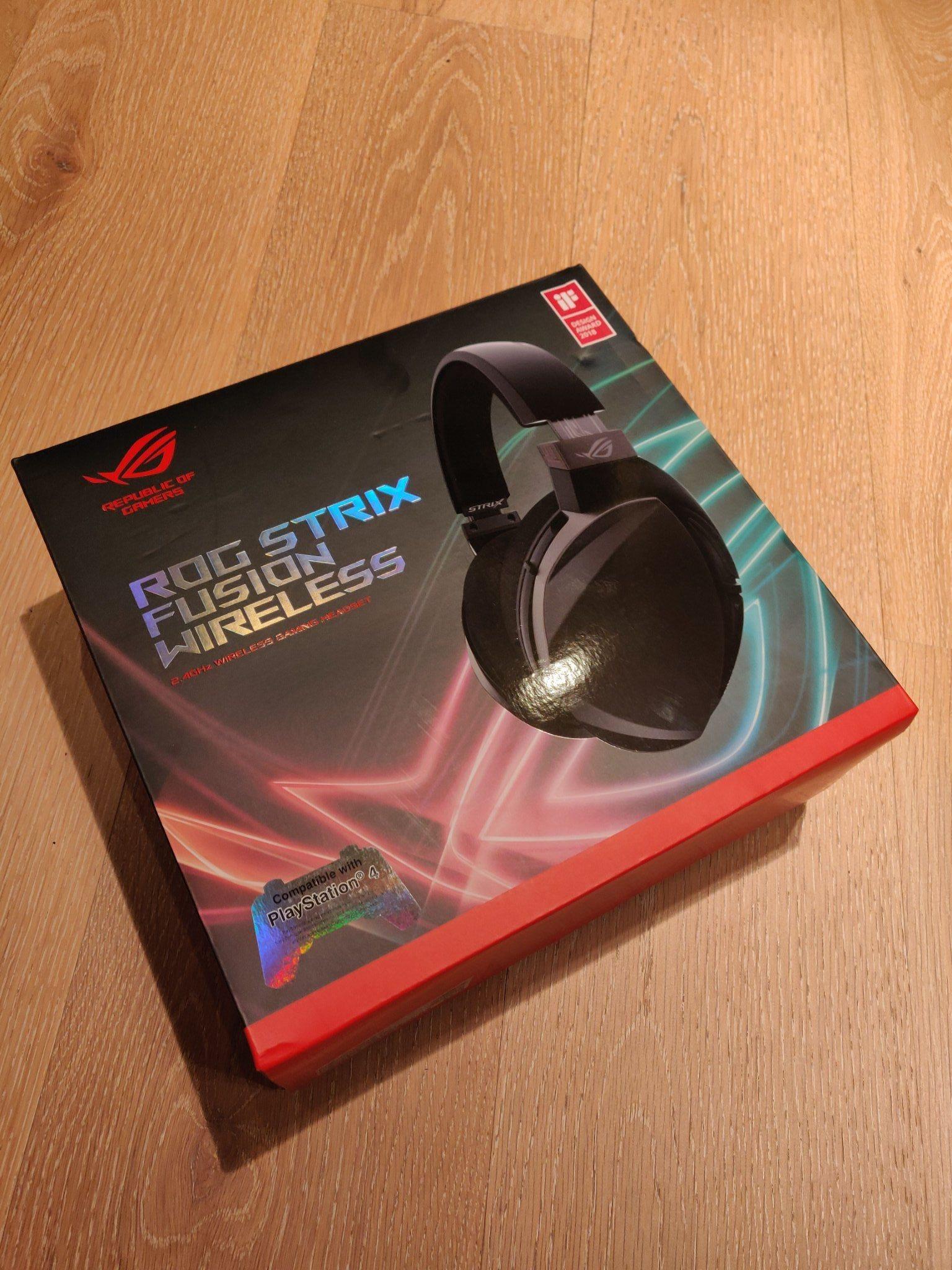 Asus Rog Strix Fusion Wireless (337874689) ᐈ Köp på Tradera baa24a5a56f0f