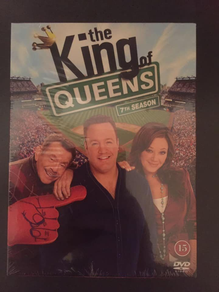 King Of Queens - Säsong 7 3DVD NY/INPLASTAD Kevin James & Leah Remini